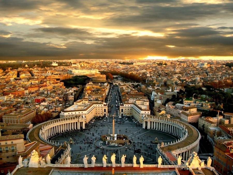 Площадь Св. Петра. Ватикан