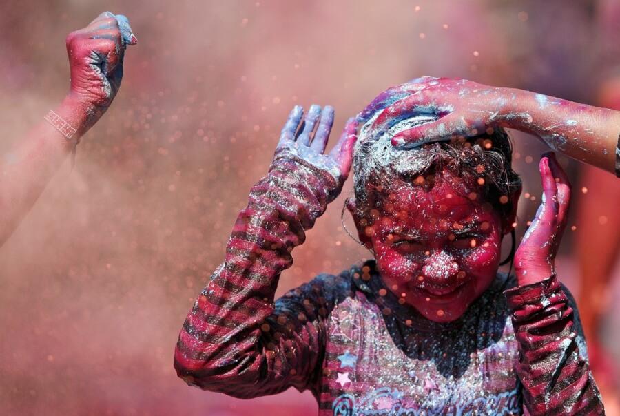 Праздник красок- Холи